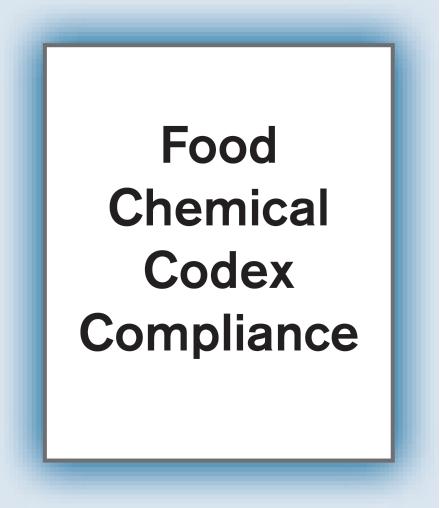 Food Chemicals Codex (FCC)